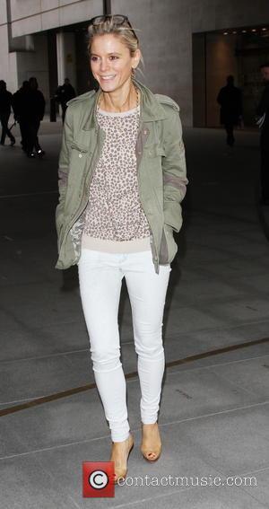 Emelia Fox - Emilia Fox visits the BBC Radio 2 studios - London, United Kingdom - Friday 24th January 2014
