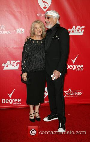 Carole King and Lou Adler - MusiCares 2014 Person Of The Year Tribute honoring Carole King held at the Los...