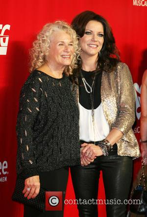 Carole King and Martina McBride - MusiCares 2014 Person Of The Year Tribute honoring Carole King held at the Los...