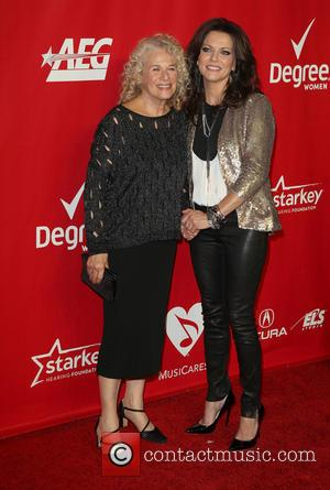 Carole King and Martina Mcbride