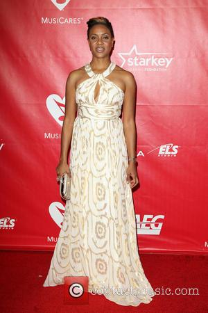 MC Lyte - 2014 MusiCares Person Of The Year honoring Carole King at Los Angeles Convention Center - Arrivals -...