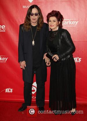 Ozzy Osbourne and Sharon Osbourne - 2014 MusiCares Person Of The Year honoring Carole King at Los Angeles Convention Center...