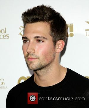 James Maslow - Celebrities attend OK! Magazine's Pre-Grammy event with performance by Jason Derulo and special guest appearance by Jordin...