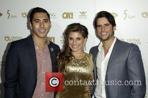 David Cruz, Marisa Saks and Justin Bird