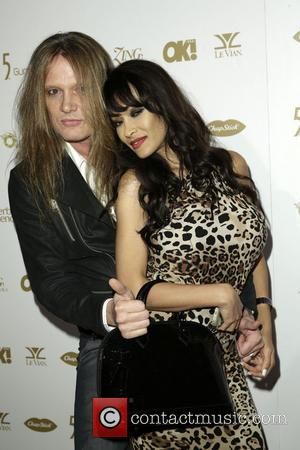 Sebastian Bach and Minnie Gupta - OK! Magazine's pre-Grammy event with a performance by Jason Derulo and special guest appearance...