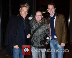 Michael Bolton, Cathal Burke and Ryan Tubridy