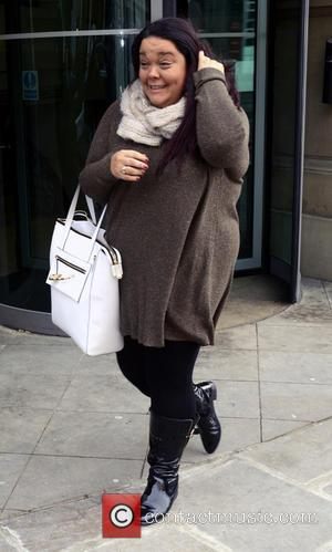 Lisa Riley - Strictly Come Dancing contestants leave their hotel ahead of their performances later this evening (25Jan14) in the...