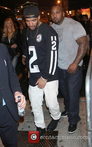 Drake - Celebrities leave 1 OAK nightclub after attending Jay Z's pre-Grammy party - Los Angeles, California, United States -...