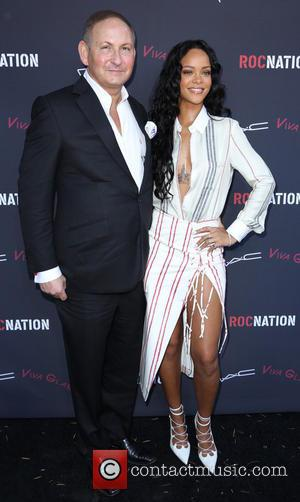 John Demsey and Rihanna