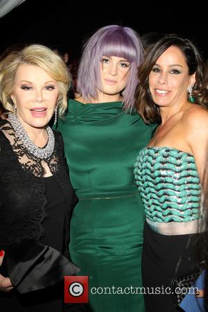 Joan Rivers, Kelly Osbourne and Melissa Rivers