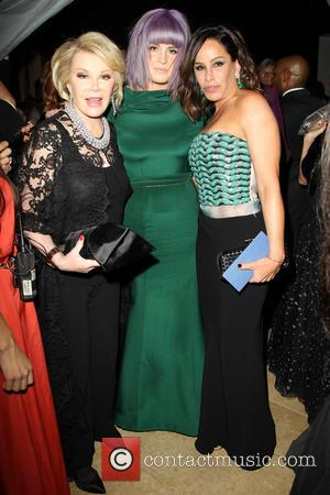 Joan Rivers, Kelly Osbourne and Melissa Rivers - 2014 Pre-Grammy Gala & Grammy Salute to Industry Icons - Clive Davis...
