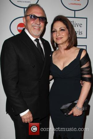 Emilio Estefan and Gloria Estefan - 2014 Pre-Grammy Gala & Grammy Salute to Industry Icons - Clive Davis at The...