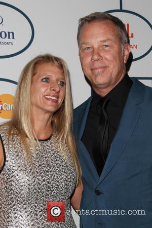 Francesca Hetfield and James Hetfield - 2014 Pre-Grammy Gala & Grammy Salute to Industry Icons - Clive Davis at The...