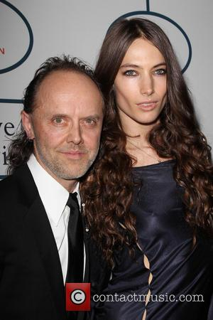 Lars Ulrich and Jessica Miller - 2014 Pre-Grammy Gala & Grammy Salute to Industry Icons - Clive Davis at The...