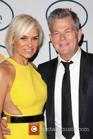 Yolanda Foster and David Foster - 2014 Pre-Grammy Gala & Grammy Salute to Industry Icons - Clive Davis at The...