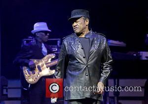 Bobby Womack - Bobby Womack performing live in concert on the second of two UK tour dates at Liverpool Philharmonic...
