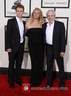 Merle Haggard, Theresa Ann Lane and Ben Haggard