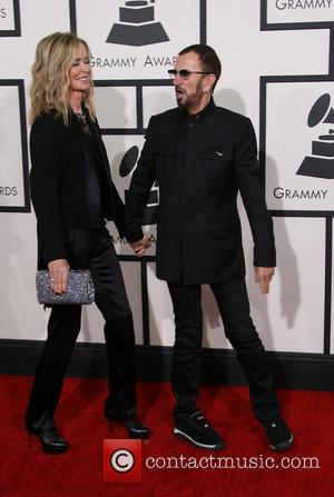 Ringo Starr and Barbara Bach - The 56th Annual GRAMMY Awards (2014) held at the Staples Center in Los Angeles,...