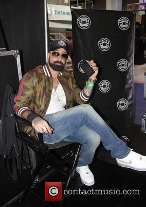 AJ Mclean - 2014 National Association of Music Merchants (NAMM) Music Convention - Anaheim, California, United States - Sunday 26th...