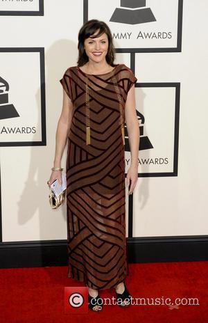Jorja Fox - 56th GRAMMY Awards - Arrivals - Los Angeles, California, United States - Sunday 26th January 2014