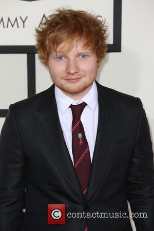 Ed Sheeran - The 56th Annual GRAMMY Awards held at the Staples Center - Arrivals - Los Angeles, California, United...