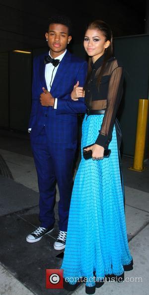 Picture - Zendaya Coleman and Trevor Jackson    Los Angeles California    Zendaya Coleman And Trevor Jackson Dating