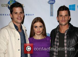 Charlie Carver, Holland Roden and Max Carver