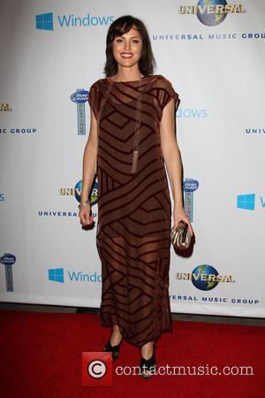 Jorja Fox - Universal Music Group 2014 Post-Grammy Party At The Ace Hotel Theater - Los Angeles, California, United States...
