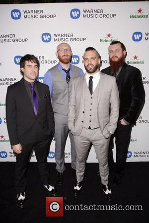Killswitch Engage, Justin Foley, Jesse Leach, Joel Stroetzel, Mike D and Celebration