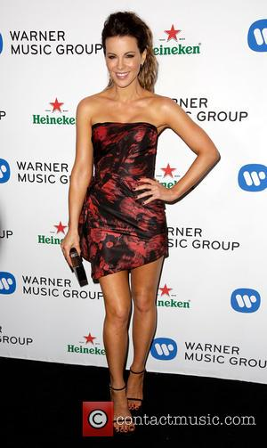 Kate Beckinsale - Celebrities attend Warner Music Group Annual Grammy Celebration at Sunset Tower Hotel. - Los Angeles, California, United...