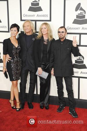 Barbara Bach, Ringo Starr, Marjorie Bach and Joe Walsh