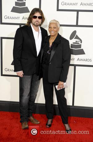 Billy Ray Cyrus and Dionne Warwick - 56th GRAMMY Awards - Arrivals - Los Angeles, California, United States - Sunday...