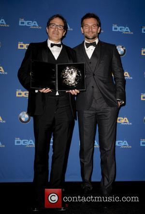David O. Russell and Bradley Cooper - The 66th Annual DGA Awards 2014 - Pressroom - Los Angeles, California, United...
