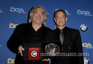 Paul Greengrass and Tom Hanks