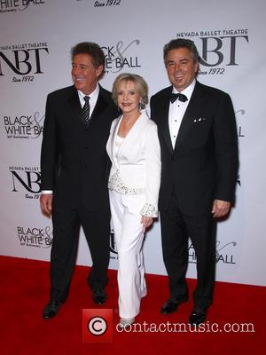 Barry Williams, Florence Henderson and Christopher Knight