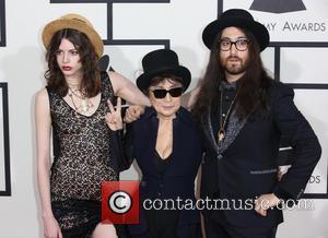 Charlotte Kemp Muhl, Yoko Ono and Sean Lennon