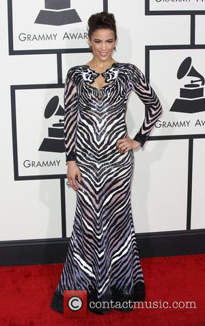 Paula Patton - The 56th Annual GRAMMY Awards held at the Staples Center - Arrivals - Los Angeles, California, United...