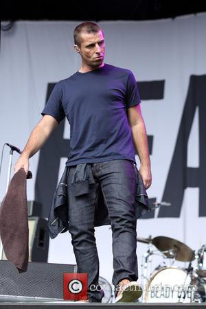Liam Gallagher - 2014 Big Day Out Festival - Beady Eye performing on stage - Sydney, Australia - Sunday 26th...