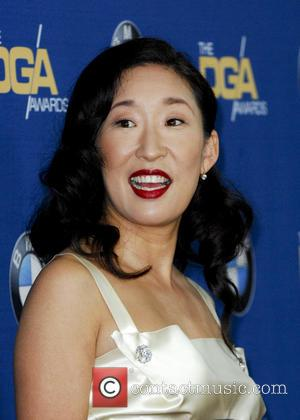 Sandra Oh - The 66th Annual DGA Awards 2014 Arrivals - Los Angeles, California, United States - Sunday 26th January...