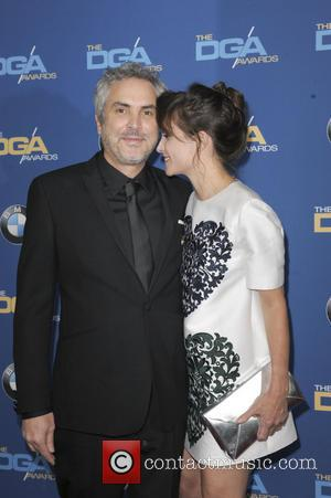 Sheherazade Goldsmith Alfonso Cuaron - The 66th Annual DGA Awards 2014 Arrivals - Los Angeles, California, United States - Sunday...