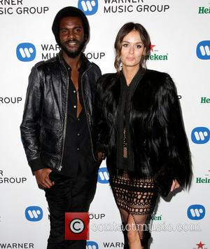 Gary Clark Jr. and Nicole Trunfio - Celebrities attend Warner Music Group Annual Grammy Celebration at Sunset Tower Hotel. -...