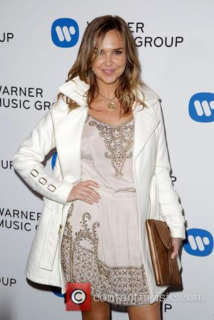 Arielle Kebbel - Celebrities attend Warner Music Group Annual Grammy Celebration at Sunset Tower Hotel. - Los Angeles, California, United...
