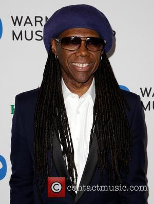 Nile Rodgers - Celebrities attend Warner Music Group Annual Grammy Celebration at Sunset Tower Hotel. - Los Angeles, California, United...