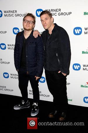 Shinedown - Celebrities attend Warner Music Group Annual Grammy Celebration at Sunset Tower Hotel. - Los Angeles, California, United States...