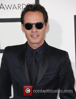 Marc Anthony - The 2014 Grammy Awards held at The Staples Center in Los Angeles at The Staples Center, Grammy...