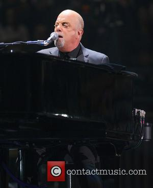 Billy Joel - Billy Joel performs for the first time as artist in residence at Madison Square Garden at Madison...