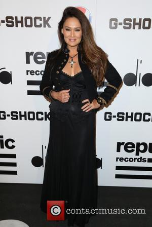 Tia Carrere - Republic Records Post GRAMMY Party at 1 OAK - Arrivals - Los Angeles, California, United States -...