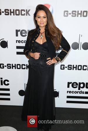 Tia Carrere - Republic Records Post GRAMMY Party at 1 OAK - Arrivals - Los Angeles, California, United States -...