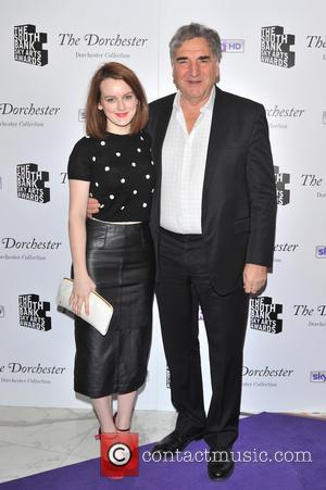 Sophie McShera and Jim Carter - The South Bank Sky Arts Awards held at the Dorchester Hotel - Arrivals. -...