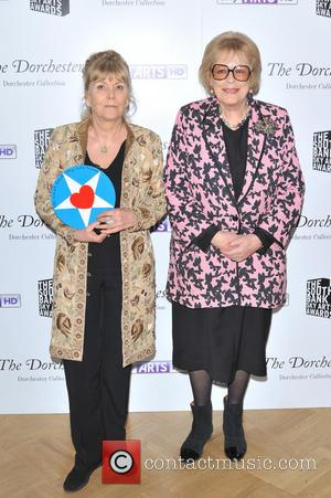 Kate Atkinson and Dame Antonia Fraser
